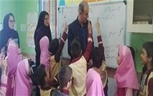 بازدید حوزه معاونت آموزش ابتدایی ازکلاس های چند پایه مناطق محروم دلوار