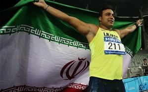 حدادی شانس اول  پرچمداری کاروان ایران، فاصله 600 کیلومتری مانع تاریخسازی الهه احمدی