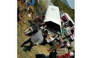 پانزده مصدوم و فوتی در حادثه جاده گلوگاه -دامغان