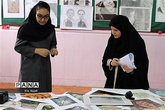 بازدید از هنرستان بحرالعلوم چهاردانگه به مناسبت هفته مشاغل