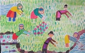 دانشآموز ۱۲ سال دهدشتی برگزیده جشنواره کشوری آب و زندگی شد