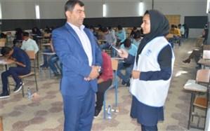آزمون تئوری مرحله کشوری شانزدهمین دوره مسابقات علمی کاربردی هنرستانهای کار دانش در بوشهر برگزار شد