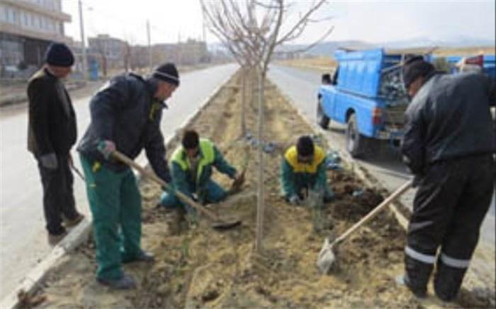 مدیریت مصرف آب در فضای سبزشهری
