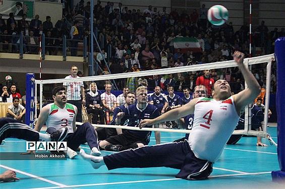 فینال لیگ جهانی والیبال نشسته/ ایران3 -0 روسیه