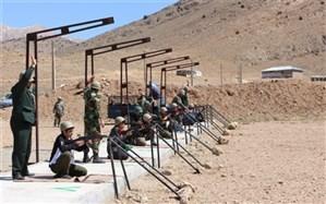 اردوی آموزشی درس آمادگی دفاعی دانش آموزان پسر پایه دهم شهرستان فیروزکوه