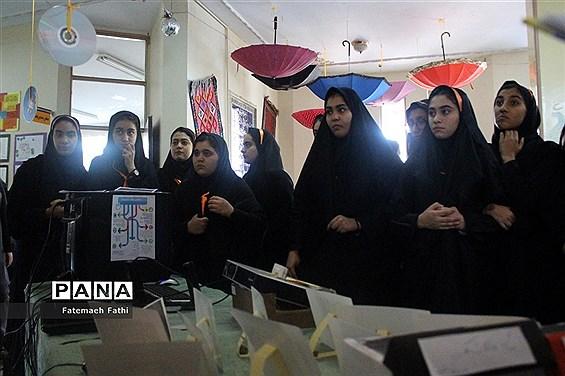 بازدید دانش آموزان پایه نهم از هنرستان بحرالعلوم چهاردانگه