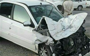 واژگونی پراید در جاده–چالوس با یک کشته و ۴ مصدوم