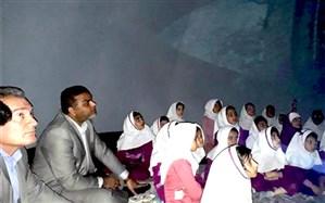 راه اندازی اولین چادر نجومی خوزستان در پژوهش سرای امام جعفر صادق(ع)