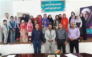 همایش شاهنامه خوانی و غزل خوانی ویژه دانش آموزان ابتدایی در منطقه دلوار برگزار گردید