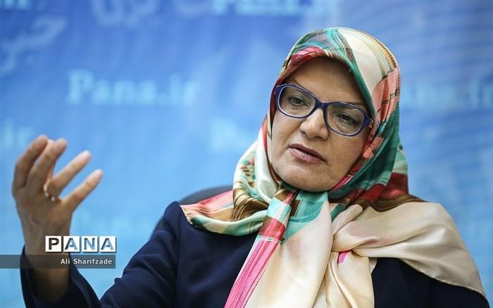 حضور ناهید خداکرمی  عضو شورای شهر تهران در خبرگزاری پانا