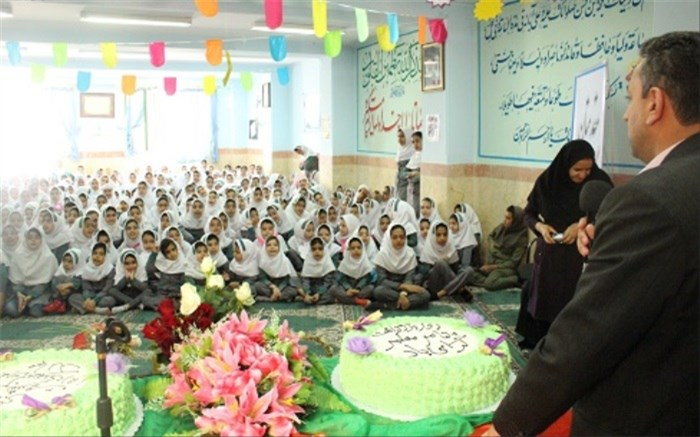 جشن میلاد امام زمان و گرامیداشت مقام معلم