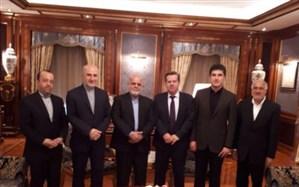 نیچروان بارزانی با سفیر ایران در عراق دیدار کرد
