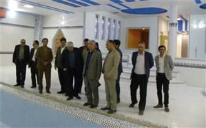 معاون پشتیبانی و توسعه مدیریت وزارت آموزش و پرورش از پروژه های عمرانی در حال ساخت منطقه کهریزک بازدید کرد