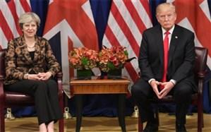 ترزا می: حفظ توافق هستهای به این معناست که بریتانیا  به تحریمهای آمریکا ضد ایران پایبند نیست