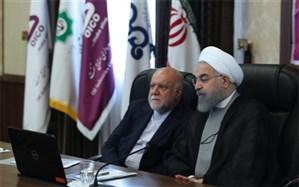 روحانی: صنعت نفت همیشه ابتدا یک مسئله سیاسی سپس مسئله اقتصادی بوده است