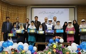 آیین اختتامیه جشنواره سفیران سلامت دانش آموزی خراسان رضوی