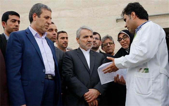 معاون رئیس جمهور از مرکز پزشکی هستهای در بوشهر