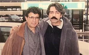 عکس قدیمی «کیهان کلهر» در کنار استاد شجریان