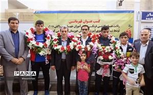 دانش آموزان خوزستانی با کسب ۵ مدال طلا و ۳ نقره بر بام کشتی فرنگی جهان ایستادند