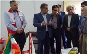 افتتاح دو خانه هلال احمر در شهرستان بهشهر