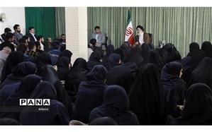 دیدار اعضای سازمان های مردم نهاد با نماینده ولی فقیه در استان البرز