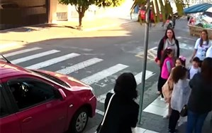 واکنش سریع پلیس زن به اقدام یک زورگیر