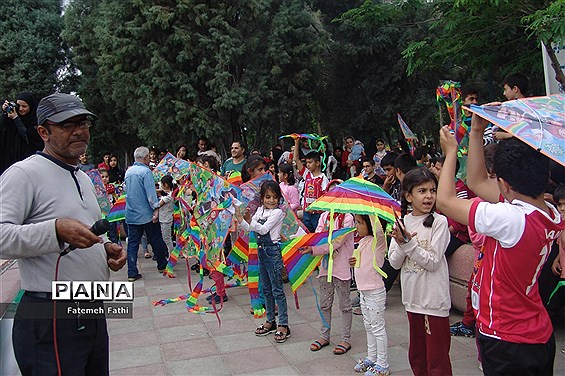 برگزاری جشنواره بادبادک ها در چهاردانگه