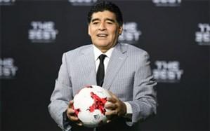 مارادونا دوباره خبرساز شد + تصویر