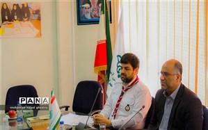 اولین جلسه سال 97 مدیران سازمان دانش آموزی شهر تهران