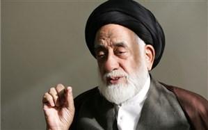 پیکر مرحوم حجت الاسلام طباطبایی در تهران تشییع شد