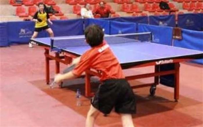 تنیس روی میز رده نونهالان و نوجوانان شهرستان بوشهر