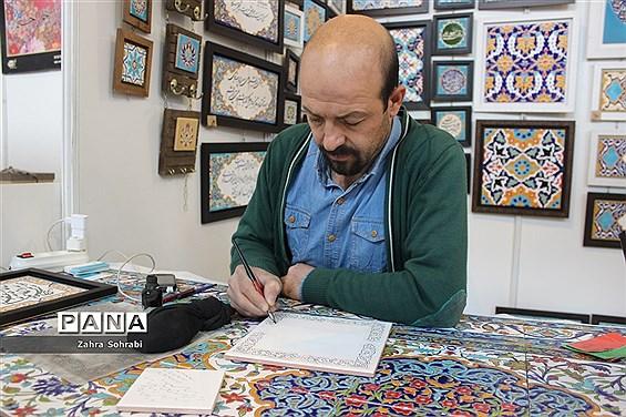 آثارخوشنویسی در بیست و ششمین نمایشگاه بین المللی قرآن کریم