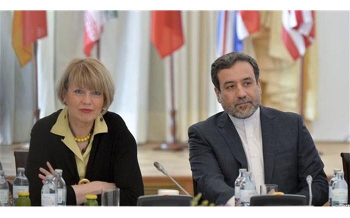 عراقچی با نماینده فرانسه و هلگا اشمید دیدار کرد