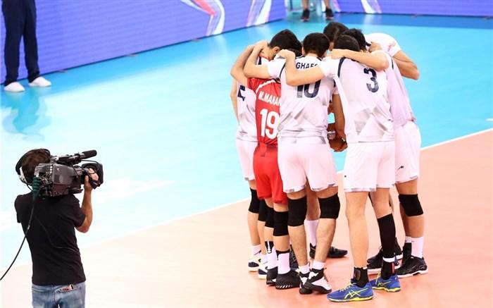 تیم ملی والیبال ایران 2018