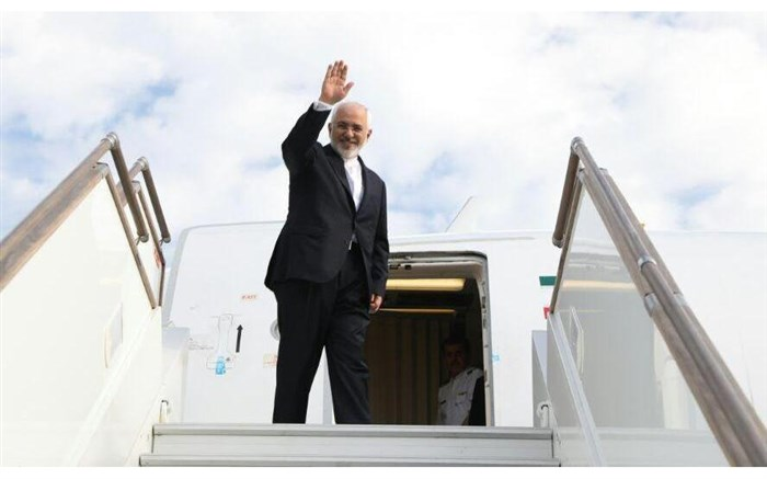 ظریف تهران را به مقصد دهلی نو ترک کرد
