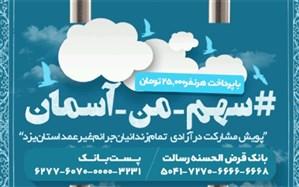 کارمندان اداره کل آموزش و پرورش استان یزد به پویش آزادی زندانیان نیازمند پیوستند