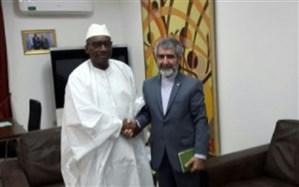 تسلیم پیام برجامی ظریف به وزیر امور خارجه سنگال