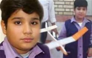 درخشش دانش آموز مدرسه شهید کاوه شهرستان بوشهر در مسابقه گلایدر بوشهر
