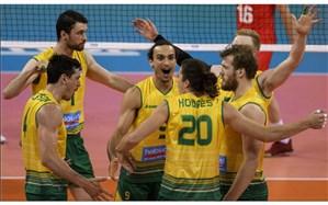 لیگ ملتهای والیبال؛ بلغارستان اسیر شگفتی کانگوروها شد