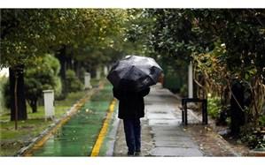 تداوم بارش باران در بسیاری از نقاط کشور تا فردا