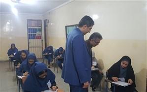 برگزاری آزمون ورودی مدارس نمونه دولتی و استعدادهای درخشان دوره دوم متوسطه در استان گلستان