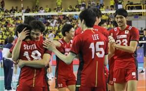 والیبال قهرمانی آسیا؛ نبرد شرقیها ژاپن را به نیمه نهایی رساند
