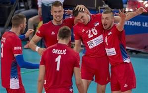 لیگ ملتهای والیبال؛ صربستان به نیمه بالا رسید