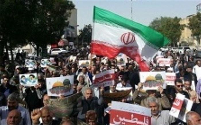 مسیرهای  راهپیمایی روز جهانی قدس در بوشهر