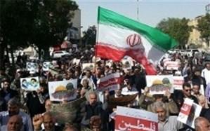 مسیرهای راهپیمایی روز جهانی قدس در استان بوشهر اعلام شد