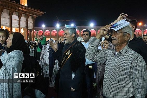 احیای شب بیست و سوم ماه رمضان درحرم شاهچراغ