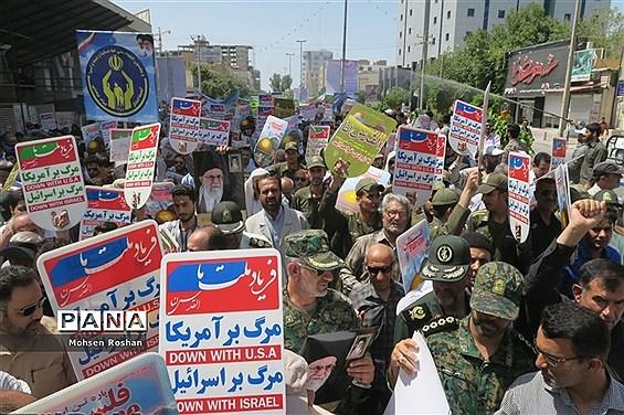 راهپیمایی  روز جهانی  قدس دربوشهر