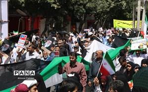 تقدیر از حضور مردم فارس در راهپیمایی روز قدس