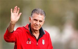 پیام جدید کارلوس کیروش برای بازیکنان تیم ملی ایران