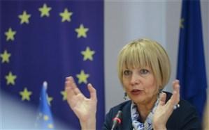 هلگا اشمید: اتحادیه اروپا مصمم به حداقل رساندن تأثیر تحریمهای آمریکا بر تجارتهای اروپایی است